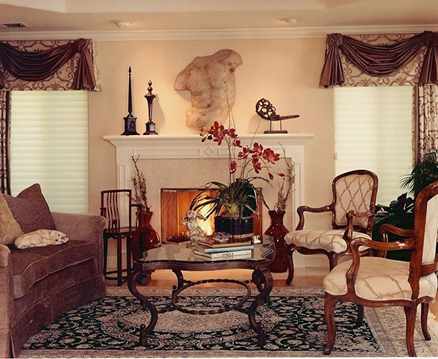 Redwood City Foothills Ca Traditional Living Room