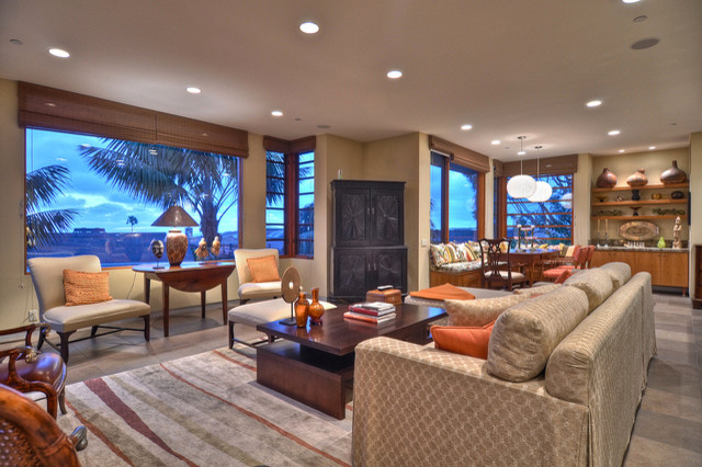 Reed Residence contemporary-living-room