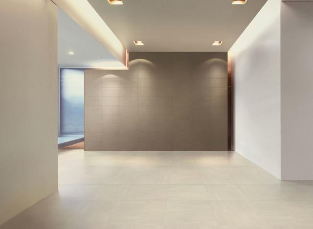 porcelain living room - Modern Tile Living Room