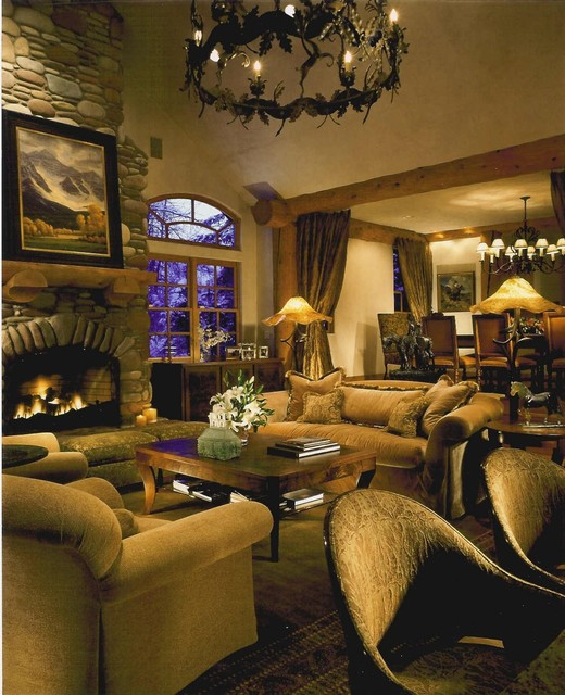 Rustic Eclectic Living Room: Refined Eclectic To A Rustic Interior