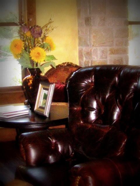 Refined Rustic rustic-living-room