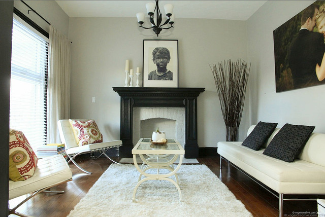 Refinished Victorian - Contemporary - Living Room - toronto