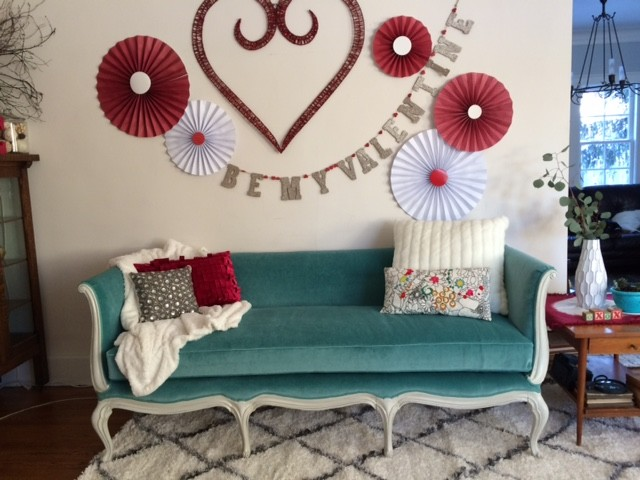 Refreshed Victorian Sofa