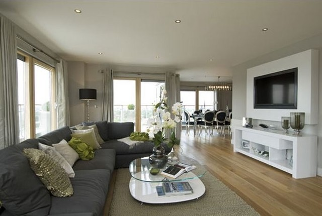 Refurbishment case study penthouse showhouse flat at for Interior designs direct