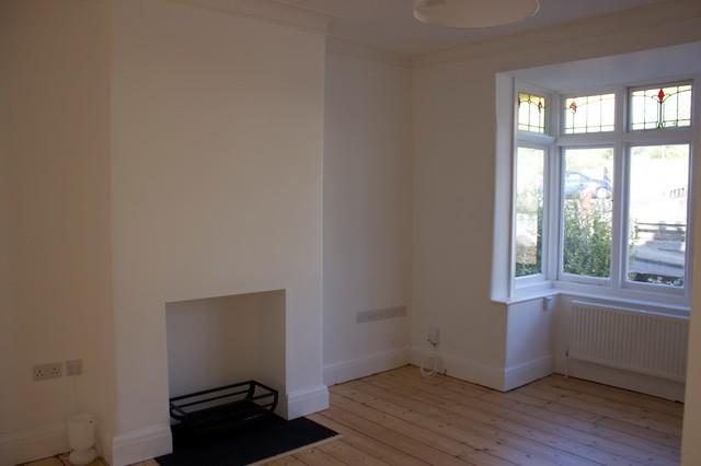 Refurbishment of 1930s semi modern living room other for Bathroom ideas 1930s semi