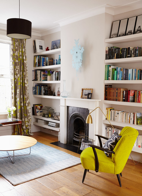 Refurbishment Of A House In South East London Contemporary Living Room London By Cecile Bell Interior Design