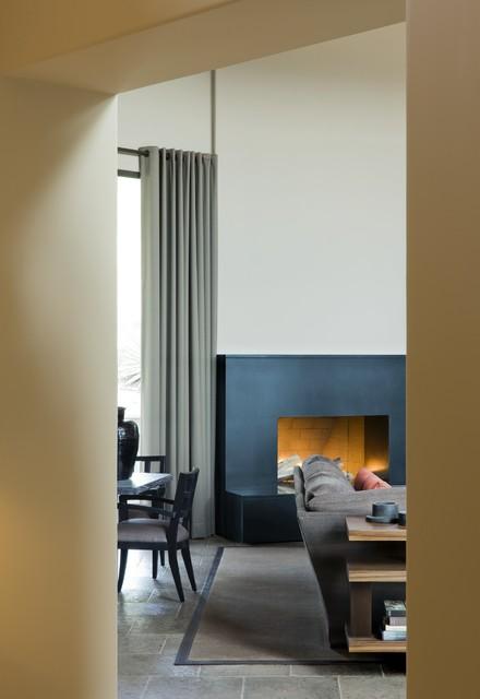 Regional Contemporary Remodel contemporary-living-room