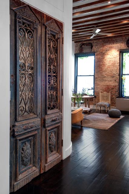 Reiko feng shui interior design loft renovation - Loft industriel design eclectique reiko feng shui ...