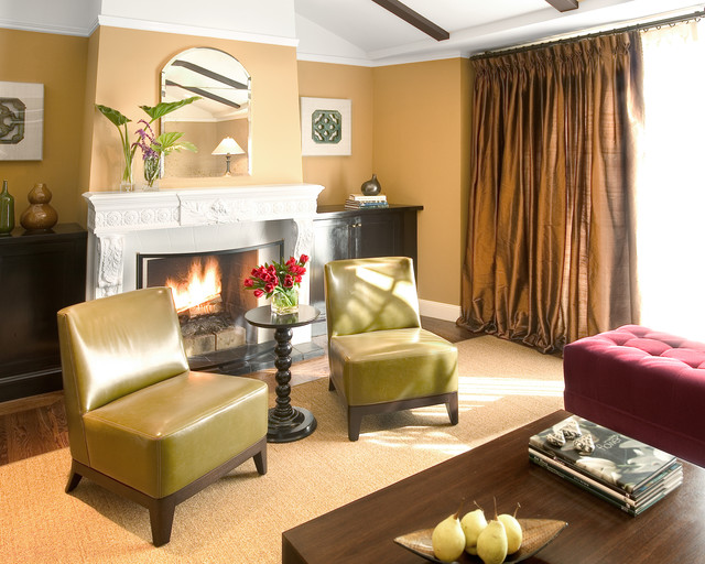 Relaxed Living Transitional Living Room New Orleans