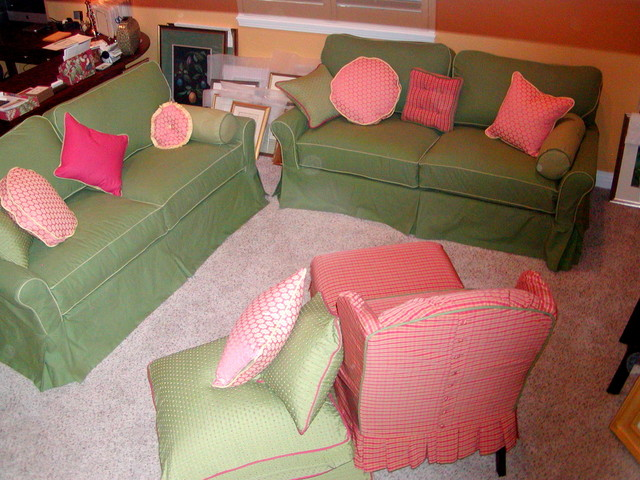 Remodel with color traditional-living-room