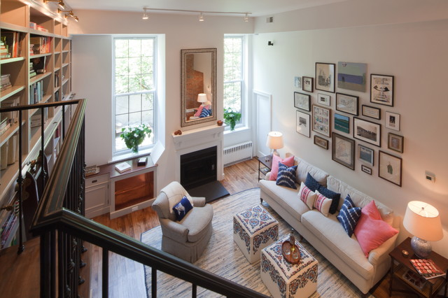 Renovation of a cobble hill brooklyn apartment in a - Brooklyn apartment interior design ...
