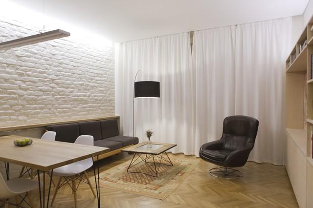 Renovation of a small flat in brno czech republic for Design apartment udolni brno
