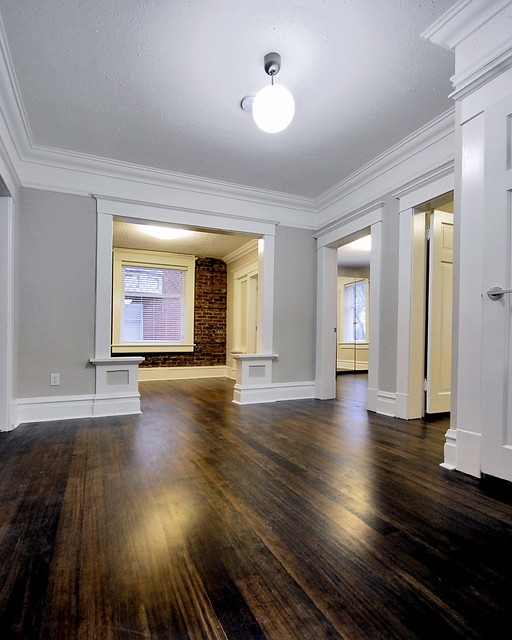 Rental Apartment Renovations - Traditional - Living Room - Vancouver