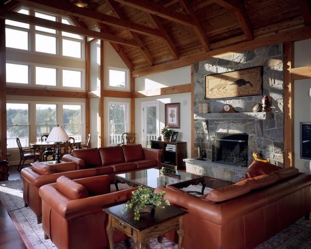 Reservoir Bay House contemporary-living-room