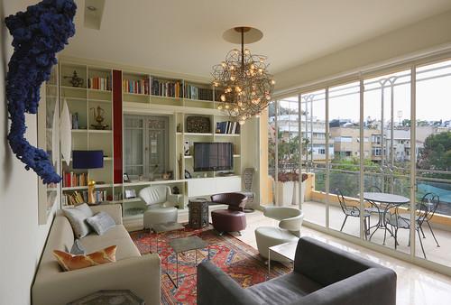 residence F modern living room