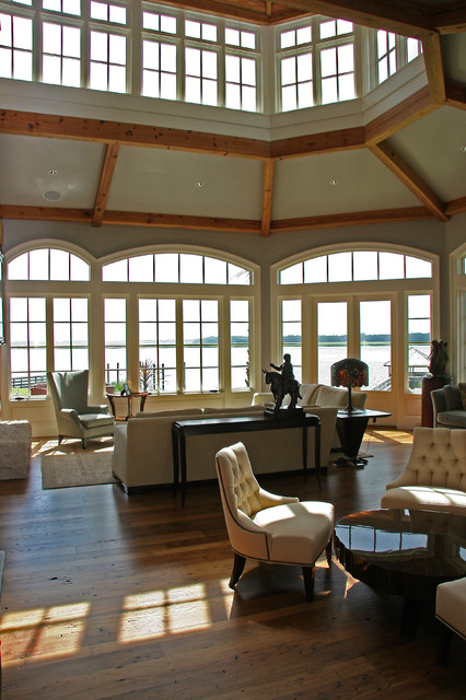 Residence in Colleton River eclectic-living-room