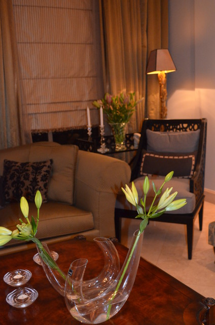 Residence in Dammam Saudi Arabia traditional-living-room
