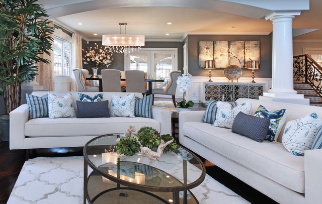 Residence In Seal Beach Ca Beach Style Living Room Orange County By 27 Diamonds