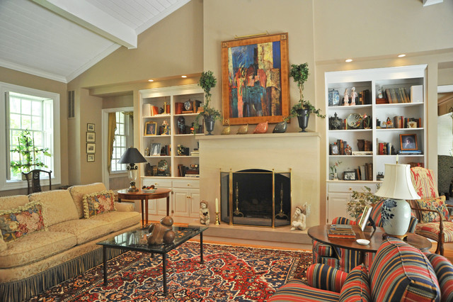 Residence In Williamsburg Va Transitional Living Room Other Metro By Kathy Knack