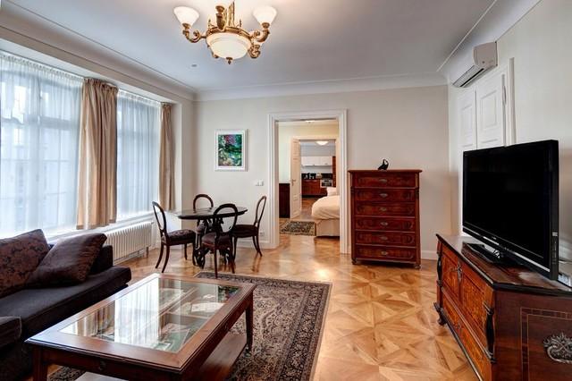 Residence Prague traditional-living-room