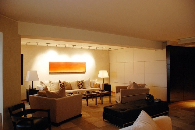 Residences - client name witheld modern-living-room