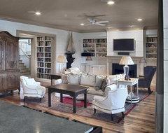 Residences in DeBordieu Colony, Georgetown, SC beach-style-living-room