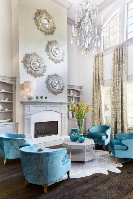 Residential 2 Transitional Living Room Atlanta By