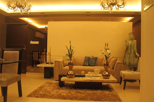 Residential Apartment in mumbai - chembur contemporary-living-room