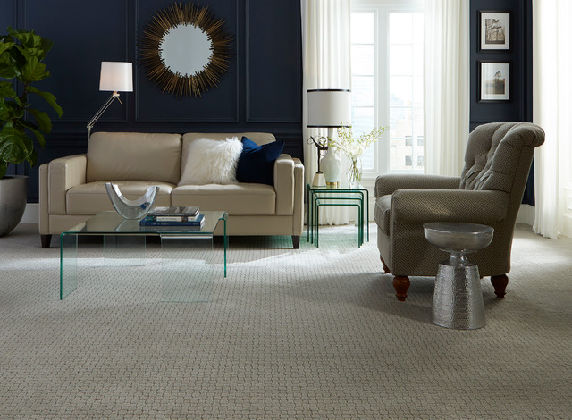 Residential Carpet Trends Modern Living Room Atlanta