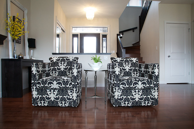 Residential Client-New Home contemporary-living-room