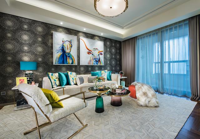 excellent living room ceiling design. Residential Design  Best Apartment Under 2000 Sq ft living room Living Room