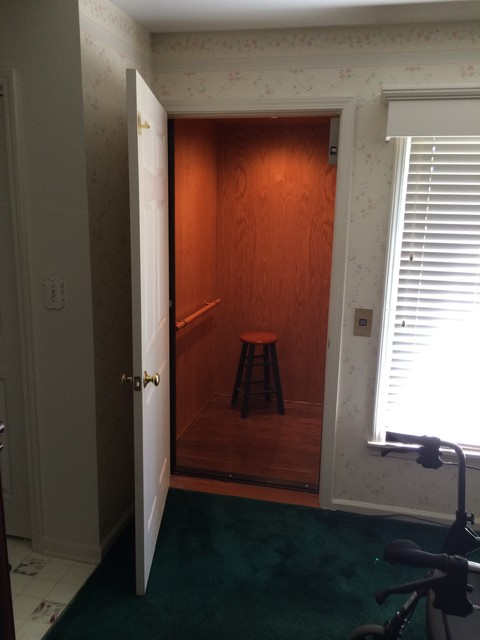 Residential Exterior Elevator Addition Traditional Living Room Louisville By Executive