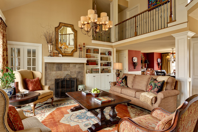 living room houzz residential interiors kansas city traditional living 10949