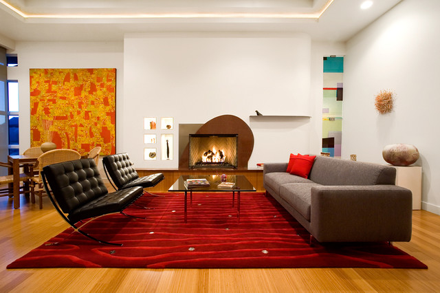 Residential Interiors Contemporary Living Room Other