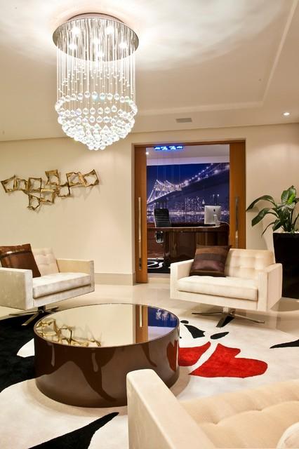 Residential objective usa interior design works for Modern living room usa