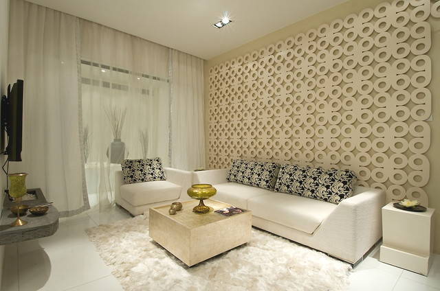 Beautiful RESIDENTIAL PROJECT IN KANDIVALI, Contemporary Living Room