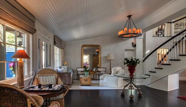 Residential Red Oak Strip Floor Update Traditional
