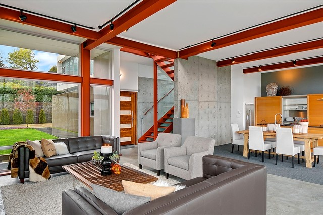 residential staging dedicated to the sale contemporary-living-room