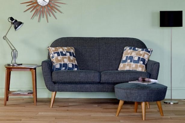 Retro 60s Scandinavian Style Modern Living Room Perth by