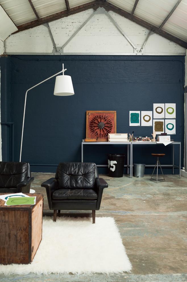 Urban living room photo in Buckinghamshire