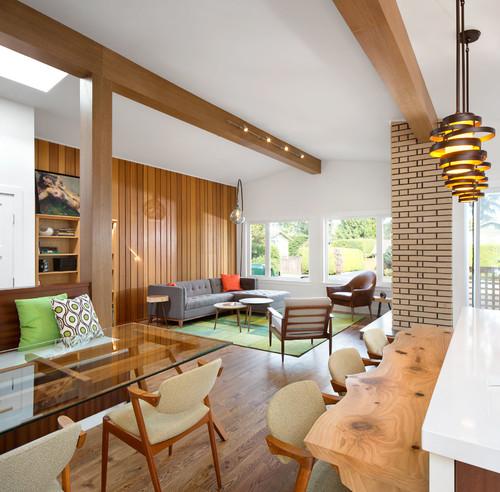 5 Ways To Use Wood Paneling