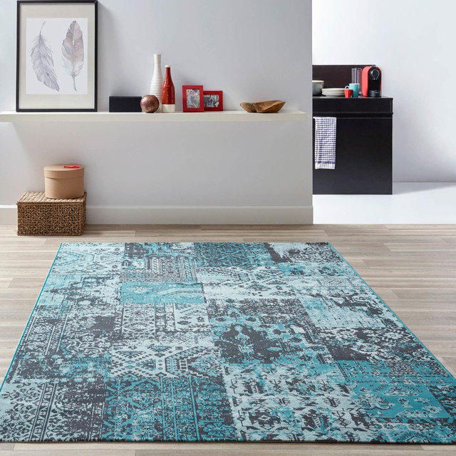Revive Rugs Modern Living Room Manchester By The Rug Seller
