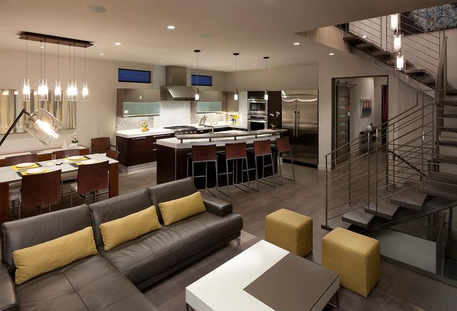 Rhode Island Contemporary Living Room