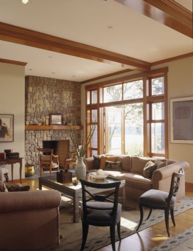 Rhodes Architecture + Light traditional-living-room
