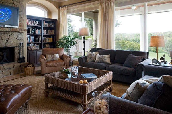 Richens Designs - Residential traditional living room