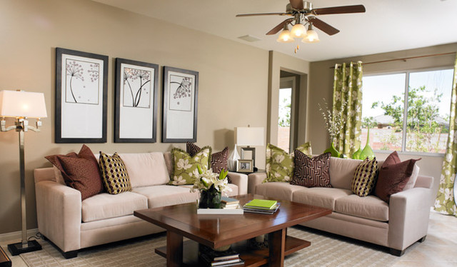 Richmond American Homes - Phoenix contemporary-living-room