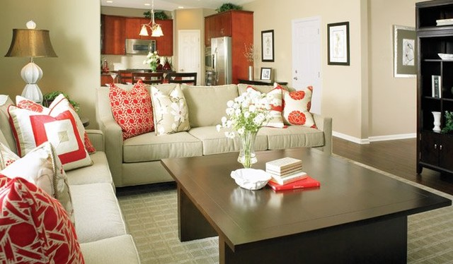 Richmond American Homes - Southern New Jersey contemporary-living-room