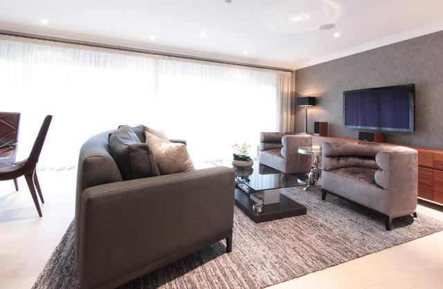 Richmond contemporary-living-room