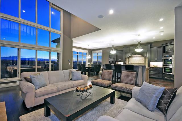 Ridge Home 2 contemporary-living-room