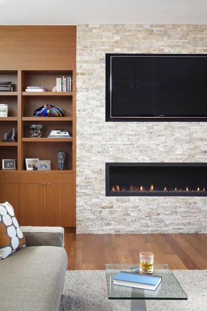 Ridgewood Residence contemporary-living-room